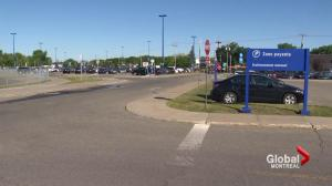 Pierrefonds train commuters frustrated by lack of free parking